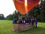 Onovertroffen ballonvlucht in Beesd vrijdag 11 mei 2018