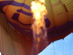 Heerlijke ballon vaart vanaf startlocatie Beesd vrijdag 11 mei 2018