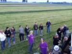 Plezierige ballon vlucht gestart in Beesd vrijdag 11 mei 2018