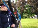 Schitterende ballonvaart opgestegen op opstijglocatie Beesd vrijdag 11 mei 2018