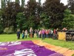 Ultieme luchtballonvaart gestart op opstijglocatie Beesd vrijdag 11 mei 2018