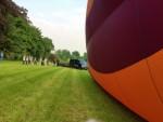 Heerlijke luchtballonvaart opgestegen op startlocatie Beesd vrijdag 11 mei 2018
