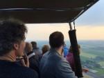 Uitstekende luchtballonvaart opgestegen op opstijglocatie Beesd vrijdag 11 mei 2018