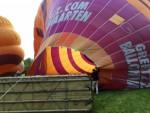 Feestelijke ballonvaart vanaf opstijglocatie Beesd vrijdag 11 mei 2018