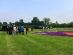 Magnifieke heteluchtballonvaart in de buurt van Beesd vrijdag 11 mei 2018