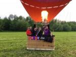 Schitterende ballonvlucht opgestegen op opstijglocatie Beesd vrijdag 11 mei 2018