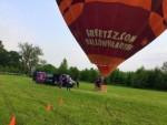 Exceptionele ballon vlucht opgestegen op startveld Beesd vrijdag 11 mei 2018