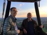 Schitterende ballonvlucht in de regio Landgraaf vrijdag 11 mei 2018