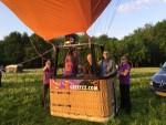 Ultieme luchtballonvaart opgestegen op startlocatie Landgraaf vrijdag 11 mei 2018