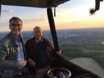 Formidabele ballon vlucht opgestegen op opstijglocatie Landgraaf vrijdag 11 mei 2018