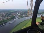 Heerlijke luchtballonvaart over de regio Zwolle vrijdag 11 mei 2018