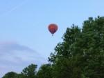 Mooie ballon vlucht opgestegen op opstijglocatie Zwolle vrijdag 11 mei 2018