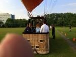 Betoverende ballonvlucht vanaf startveld Zwolle vrijdag 11 mei 2018