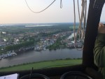 Perfecte luchtballonvaart gestart in Zwolle vrijdag 11 mei 2018