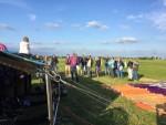 Buitengewone heteluchtballonvaart opgestegen op opstijglocatie Akkrum vrijdag 13 juli 2018