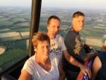Geweldige luchtballon vaart in Beesd vrijdag 13 juli 2018
