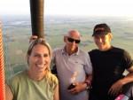 Mooie luchtballonvaart opgestegen in Beesd vrijdag 13 juli 2018