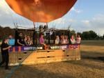 Ongekende heteluchtballonvaart opgestegen op startveld Doetinchem vrijdag 13 juli 2018