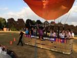 Meesterlijke ballonvlucht in de buurt van Doetinchem vrijdag 13 juli 2018