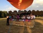 Relaxte heteluchtballonvaart in de omgeving van Doetinchem vrijdag 13 juli 2018