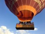 Schitterende luchtballon vaart in de omgeving Doetinchem vrijdag 13 juli 2018