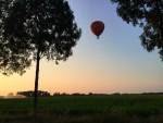 Spectaculaire ballon vlucht startlocatie Gorinchem vrijdag 13 juli 2018