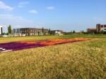 Relaxte ballonvaart in de regio Gorinchem vrijdag 13 juli 2018