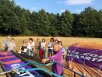 Onovertroffen ballon vlucht over de regio Oss vrijdag 13 juli 2018