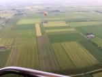 Mooie ballon vlucht boven de regio Beesd vrijdag 15 juni 2018