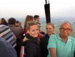 Schitterende ballonvlucht startlocatie Beesd vrijdag 15 juni 2018