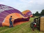 Magnifieke ballon vlucht in Beesd vrijdag 15 juni 2018