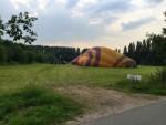 Ongelofelijke mooie luchtballon vaart vanaf startlocatie Beesd vrijdag 15 juni 2018