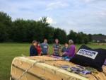Ultieme ballonvaart vanaf startlocatie Beesd vrijdag 15 juni 2018