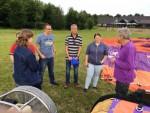 Uitmuntende heteluchtballonvaart gestart op opstijglocatie Beesd vrijdag 15 juni 2018