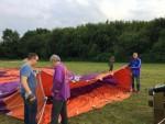 Geweldige luchtballon vaart startlocatie Beesd vrijdag 15 juni 2018