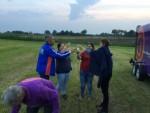 Jaloersmakende luchtballon vaart in de omgeving van Beesd vrijdag 15 juni 2018