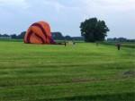 Onovertroffen ballon vaart opgestegen op startlocatie Beesd vrijdag 15 juni 2018