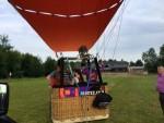 Waanzinnige ballonvlucht gestart in Beesd vrijdag 15 juni 2018