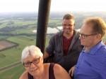 Mooie ballon vlucht vanaf startveld Geesteren vrijdag 15 juni 2018