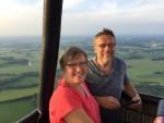 Overweldigende luchtballon vaart boven de regio Geesteren vrijdag 15 juni 2018