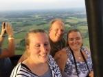 Plezierige luchtballon vaart regio Geesteren vrijdag 15 juni 2018