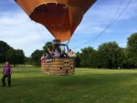 Geweldige ballonvlucht omgeving Maastricht vrijdag 15 juni 2018