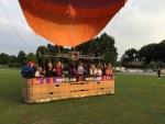 Ongeëvenaarde ballonvlucht gestart in Zwolle vrijdag 15 juni 2018