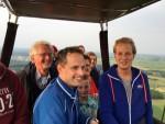 Heerlijke luchtballonvaart in de omgeving Zwolle vrijdag 15 juni 2018