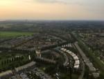Jaloersmakende heteluchtballonvaart over de regio Zwolle vrijdag 15 juni 2018