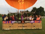 Waanzinnige ballonvlucht in de buurt van Zwolle vrijdag 15 juni 2018