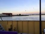 Mooie luchtballonvaart vanaf opstijglocatie Capelle aan den ijssel op vrijdag 17 augustus 2018
