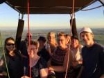 Adembenemende ballonvaart startlocatie Capelle aan den ijssel op vrijdag 17 augustus 2018