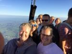 Indrukwekkende ballonvaart vanaf opstijglocatie Joure op vrijdag 17 augustus 2018