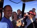 Plezierige ballon vlucht startlocatie Joure op vrijdag 17 augustus 2018